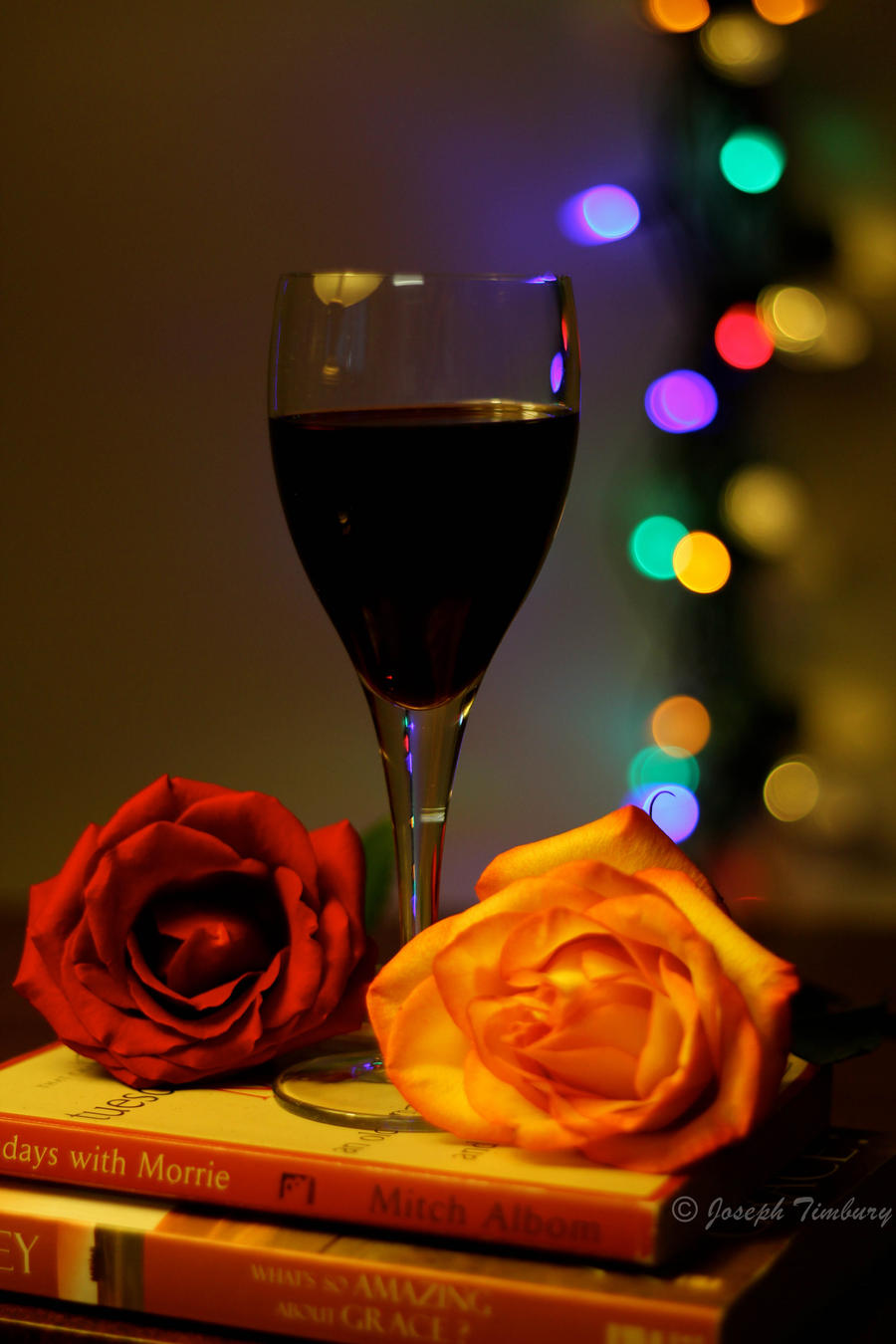 Wine. Rose. Bokeh. II by JosephTimbury