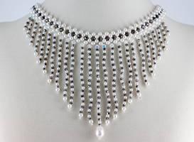 Vintage inspired Pearl Fringe by BeadfulStrings