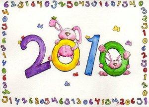 Happy 2010 by The-Pink-Giraffe