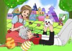 Yuudai and Hikari by Pimsan0