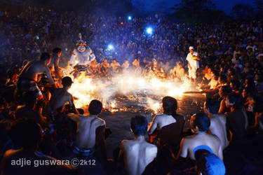 Kecak Dance in Bali by adjieguswara-art