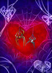 Spider Love (Scy and Lana) by ScytheaAndLanarkine