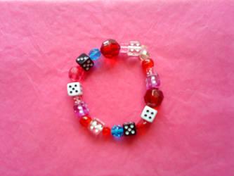 Candy Dice Bracelet by eiah