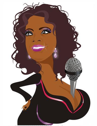 Oprah Winfrey by nicoletaionescu