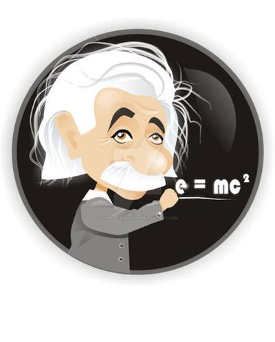 Albert Einstein by nicoletaionescu
