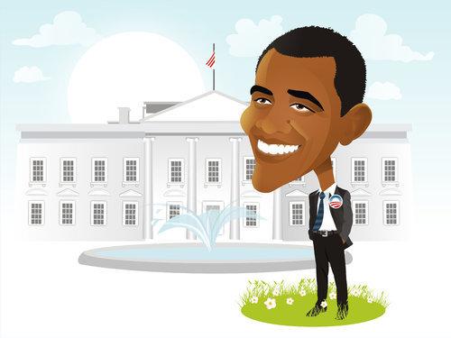 Barack Obama by nicoletaionescu