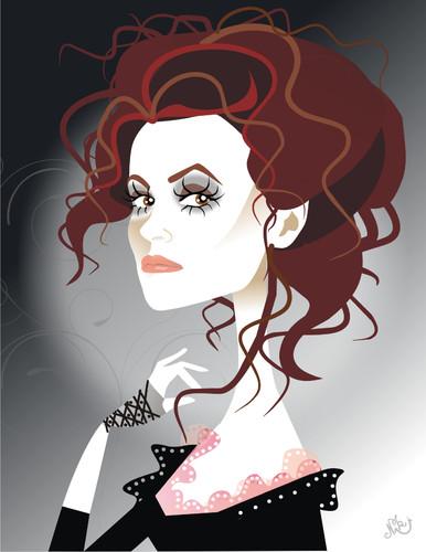 Helena Bonham Carter by nicoletaionescu