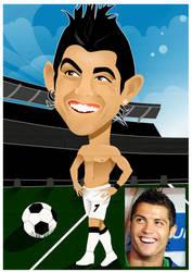 Cristiano Ronaldo by nicoletaionescu
