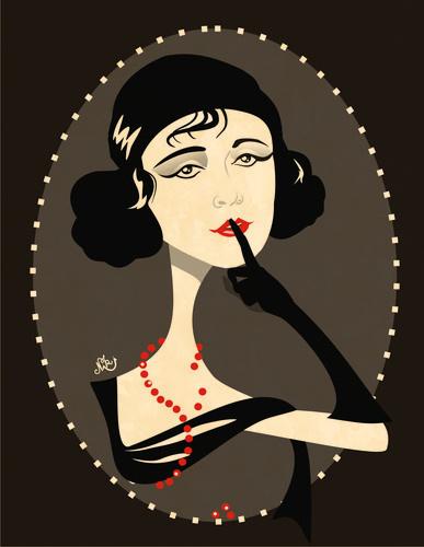 Pola Negri by nicoletaionescu