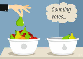 Counting votes by nicoletaionescu