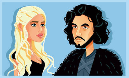 Game of Thrones Fan Art by nicoletaionescu