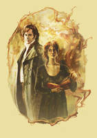 Mr. Darcy and Miss Bennet by kakao-bean