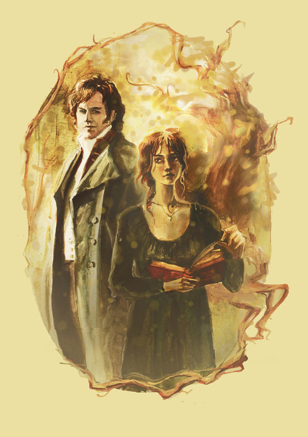 Mr. Darcy and Miss Bennet by ~kakao-bean