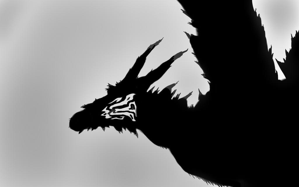 the dragon  by Shannarawolf