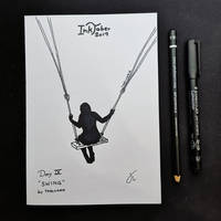 INKTOBER Day 9 - Swing