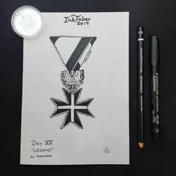 INKTOBER Day 15 - Legend