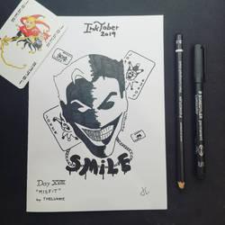 INKTOBER Day 18 - Misfit