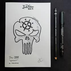 INKTOBER Day 22 - Ghost