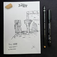 INKTOBER Day 23 - Ancient