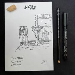 INKTOBER Day 23 - Ancient