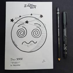 INKTOBER Day 24 - Dizzy