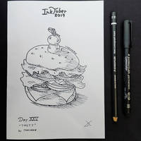 INKTOBER Day 25 - Tasty
