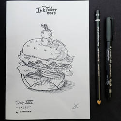 INKTOBER Day 25 - Tasty