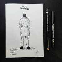INKTOBER Day 27 - Coat