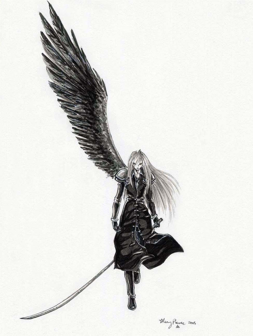 Sephiroth Wing Sephiroth by ATP-synth...