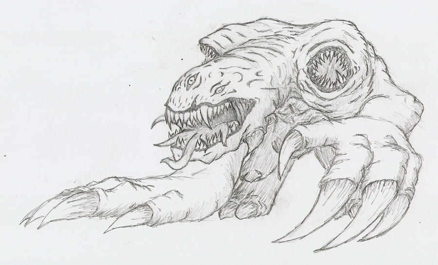 Cool drawings of creatures images for How to draw cool creatures