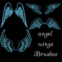 Angel Wings Brushes by remygraphics