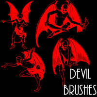 Devil Brushes by remygraphics