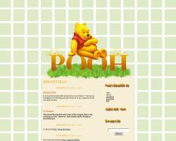 Pooh Tumblr theme by remygraphics