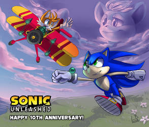 [CM][SPOILERS] Sonic Unleashed by Trojan-Pony