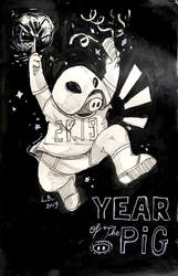 Happy new Year! by Trojan-Pony