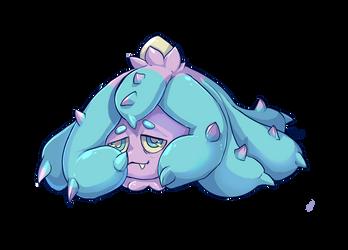 Sleepy Mareenie by Trojan-Pony