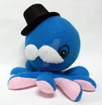 Blue gentleman octoplushie