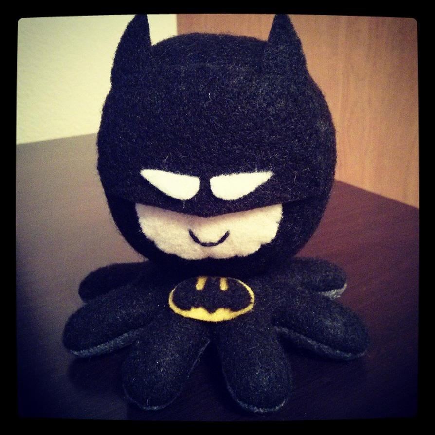 Batman octo plushie by jaynedanger