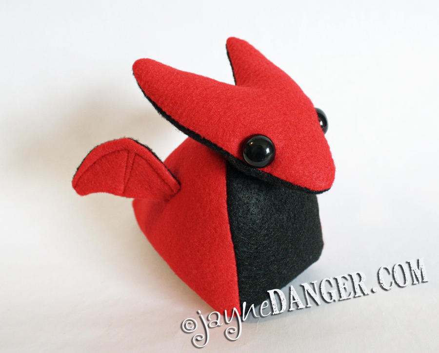NEW Dragon plushie by jaynedanger