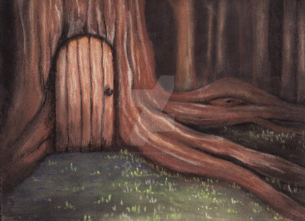 Tree Door By Ladydyer2000 ...