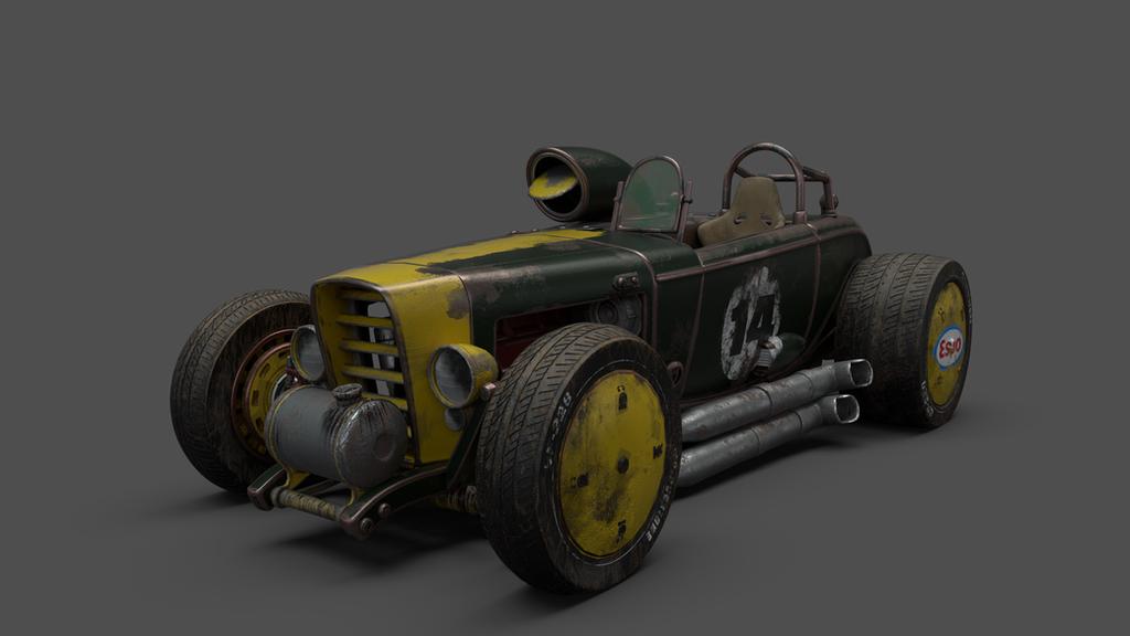old race car by ishaansharma456 on DeviantArt