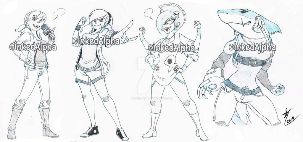 AUG Tough Female SKE by Inked-Alpha