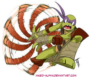Donatello by Inked-Alpha