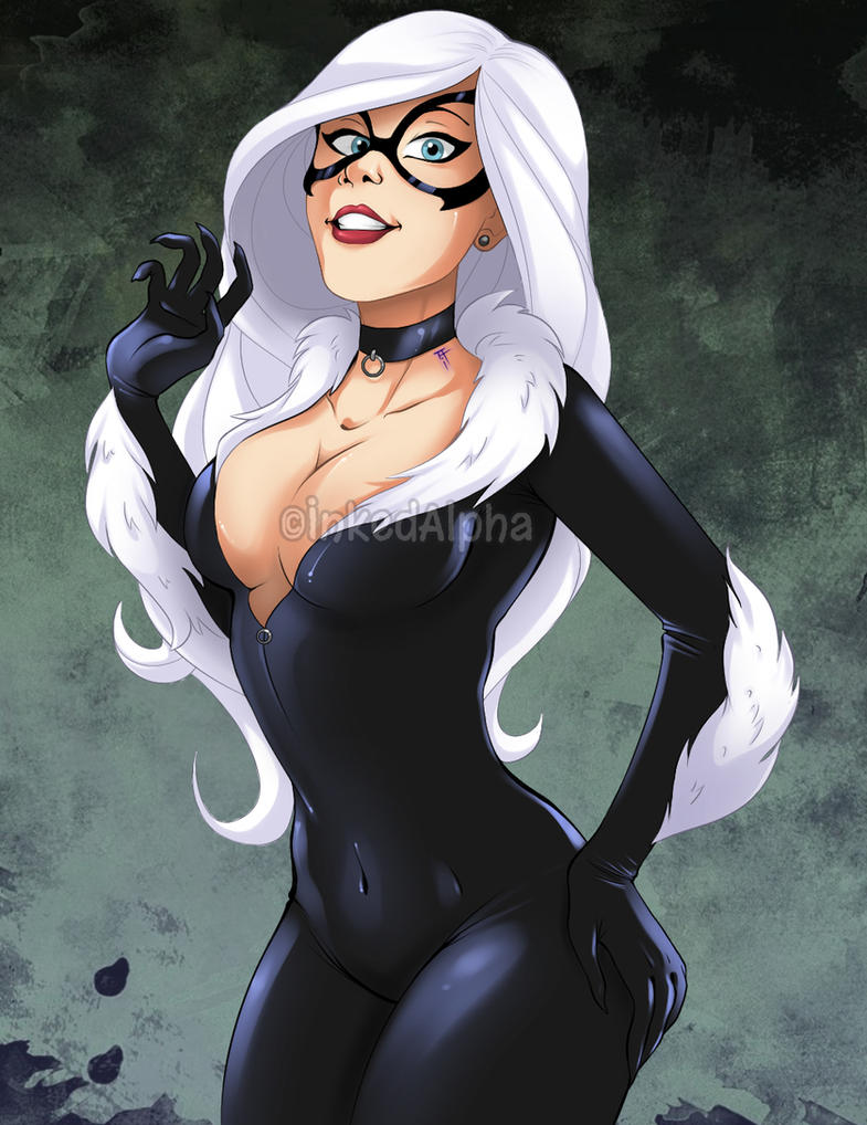 Black Cat by Inked-Alpha