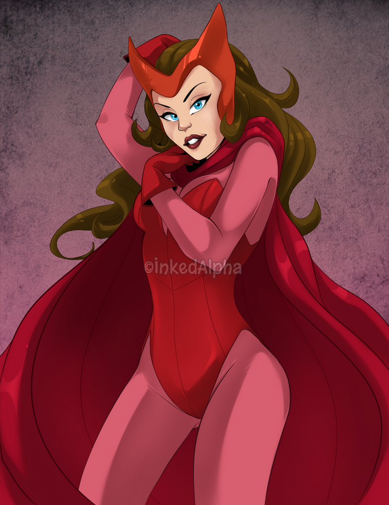Scarlet Witch by Inked-Alpha