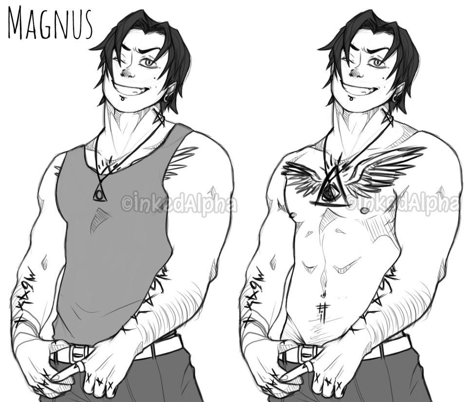 Magnus  by Inked-Alpha