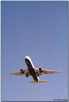 British Ariways' B757 landing