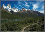 Mt. Fitz Roy, Argentina by Uriba