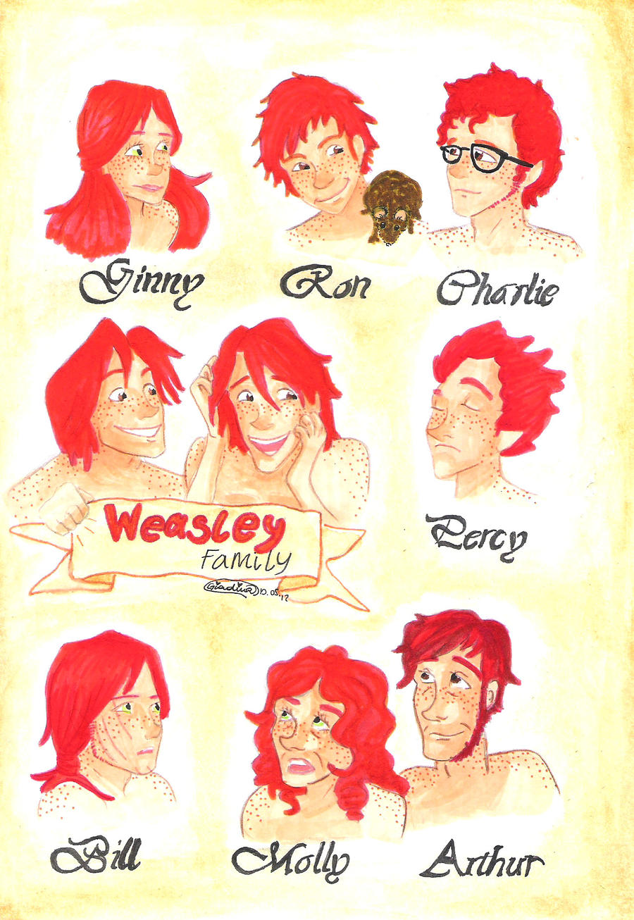 weasley family by giadina96 on DeviantArt