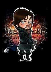 Chibi Athos by giadina96
